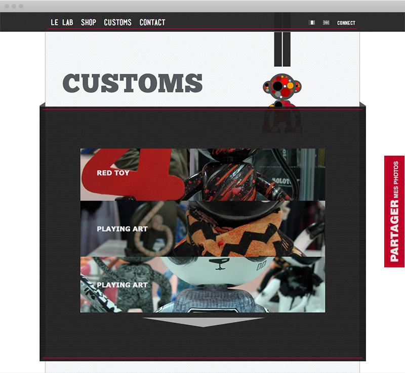 Les customisations du Playing Art - Desktop