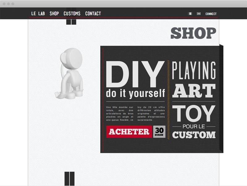 La boutique du Playing Art - Desktop