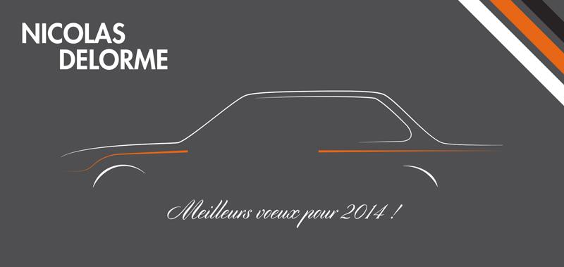 Voeux 2014 - Nicolas Delorme