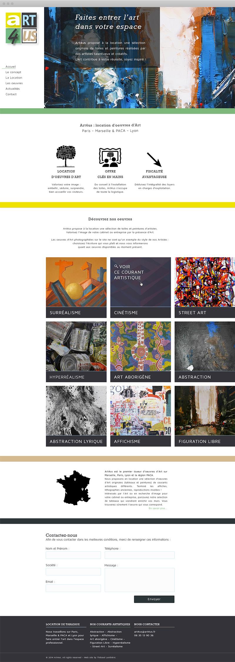 Page d'accueil - Art4us