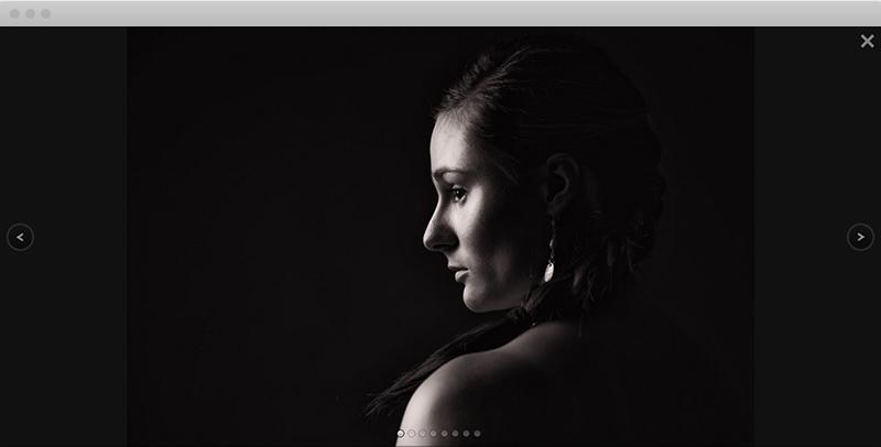 Page Album - Desktop