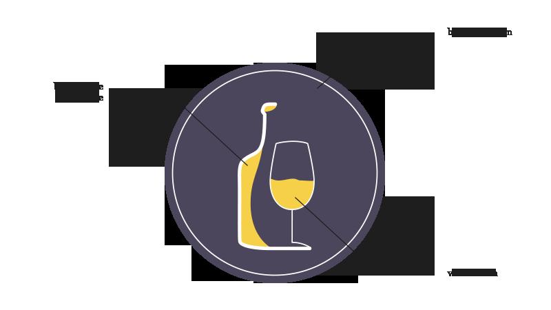 Elaboration du logo - Domaine Michel Thibaut