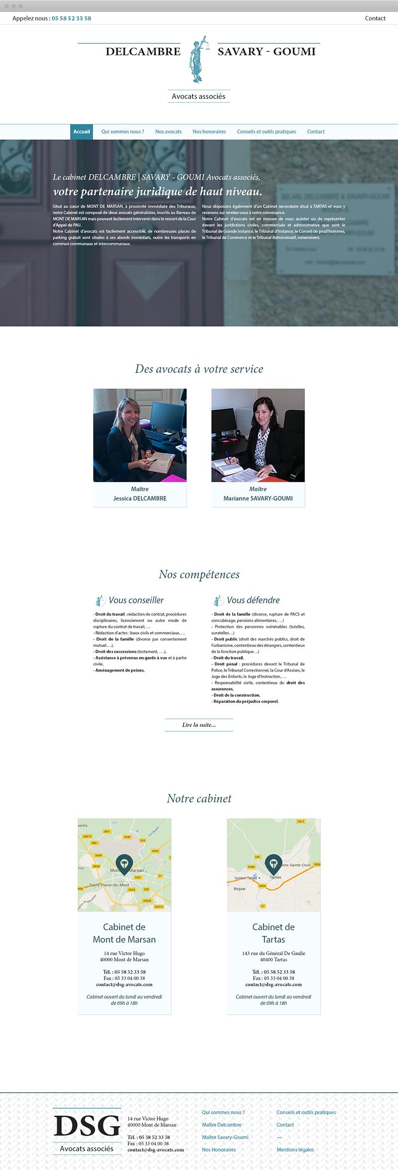 Page d'accueil - DSG Avocats