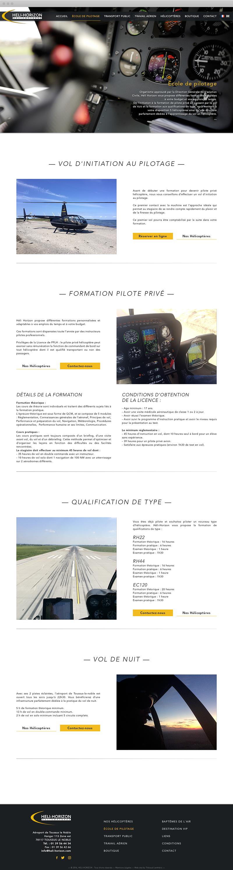 Ecole de pilotage - Héli Horizon
