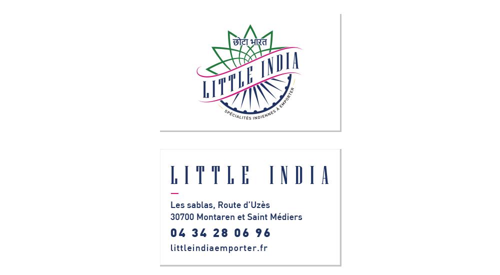 Cartes de visite de Little India